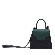 AtelierPark女士深绿牛皮挎包