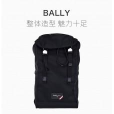 Bally巴利黑色男士背包