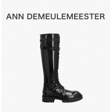ANN女士黑色马丁靴#36