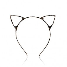 Makeup Accessories 猫耳朵发箍(豹纹) 1pc/件