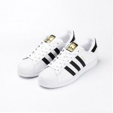 Adidas三叶草 男女运动鞋C77124/白色/42.5/双