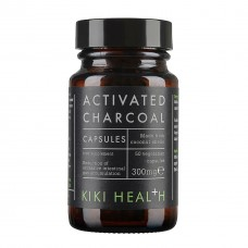 Activated Charcoal Capsule 活性炭粉胶囊 50颗
