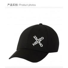 Kenzo高田贤三男士字母印花图案帽子
