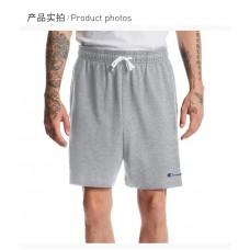 Champion男士灰色系带短裤
